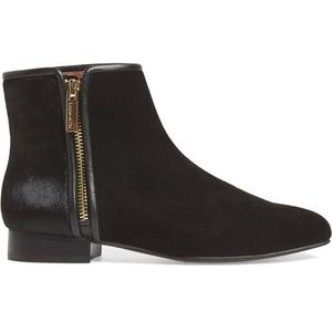 Louise Et Cie Yasmin Suede and Calf Hair Bootie